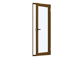 内開きドア